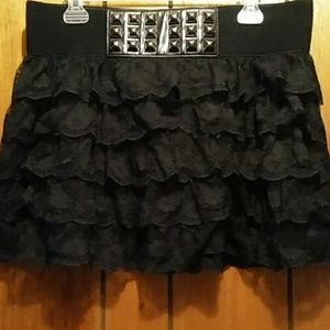 Rue21 Lace Mini Skirt
